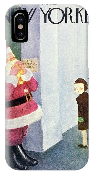 New Yorker December 14th 1946 IPhone Case