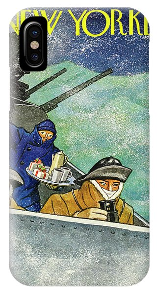 New Yorker December 26th 1942 IPhone Case