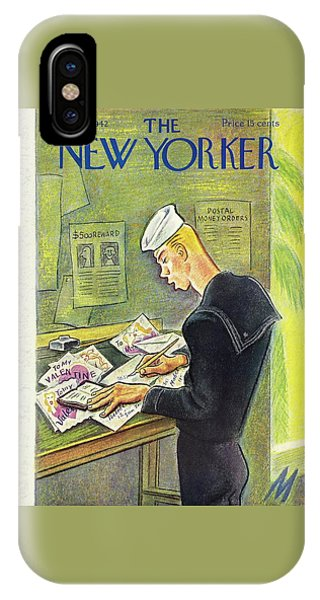 New Yorker February 14th 1942 IPhone Case