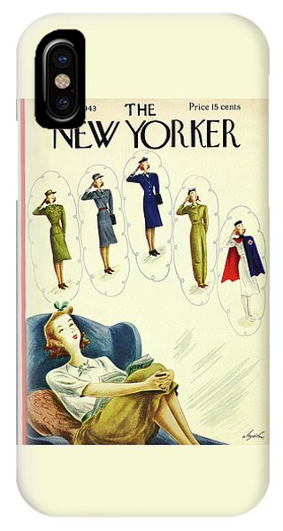 New Yorker February 27th 1943 IPhone Case