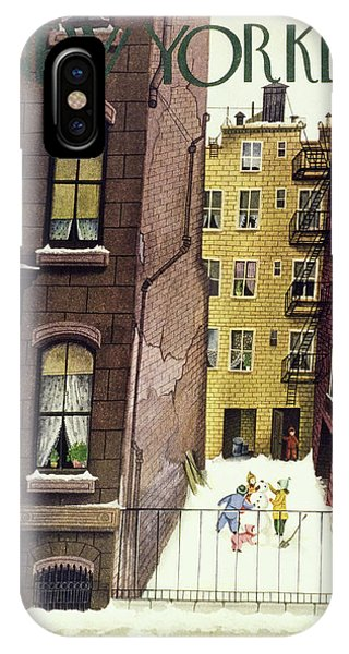 New Yorker February 2nd 1946 IPhone Case