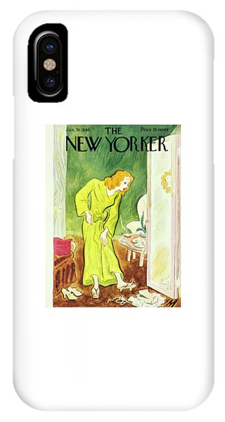 New Yorker January 26, 1946 IPhone Case