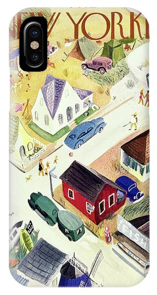 New Yorker July 19th 1947 IPhone Case