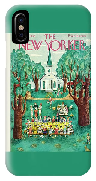 New Yorker July 24th 1943 IPhone Case