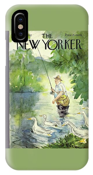 New Yorker July 25th 1942 IPhone Case