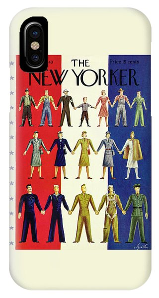 New Yorker July 3rd 1943 IPhone Case