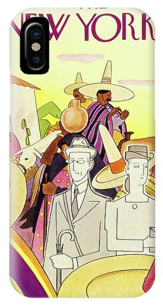 New Yorker March 9th 1946 IPhone Case