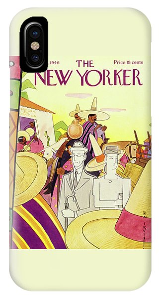 New Yorker March 9 1946 IPhone Case