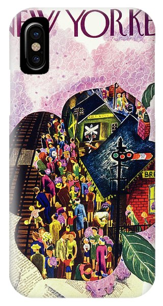 New Yorker May 18th 1946 IPhone Case