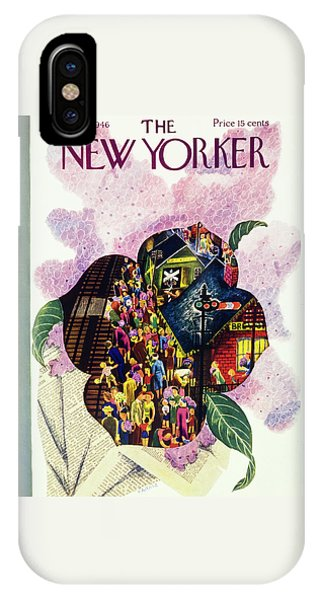 New Yorker May 18 1946 IPhone Case