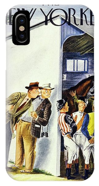 New Yorker May 31st 1947 IPhone Case