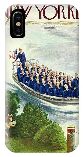 New Yorker May 9th 1942 IPhone Case