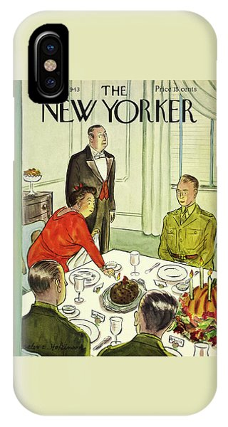 New Yorker November 27th 1943 IPhone Case