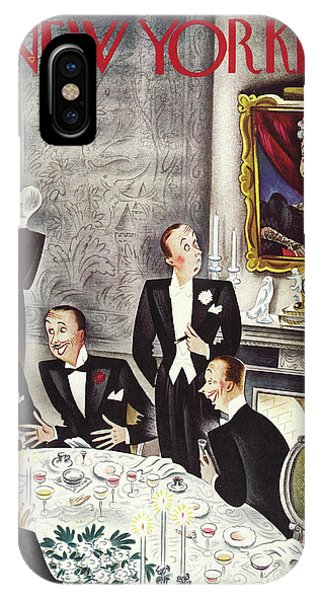 New Yorker November 2nd 1935 IPhone Case