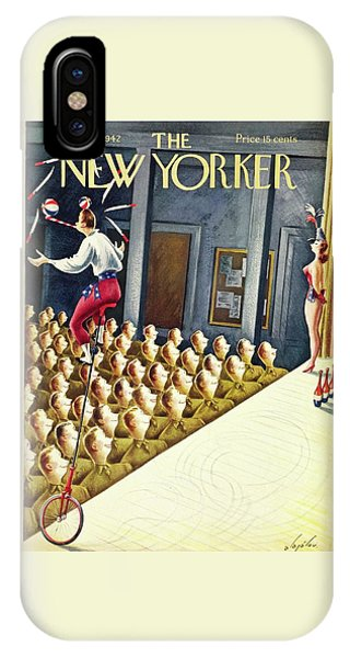 New Yorker September 26th 1942 IPhone Case