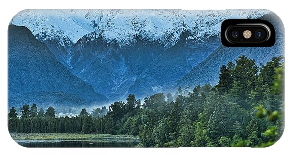 IPhone Case featuring the photograph New Zealand Alps 2 by Steven Ralser