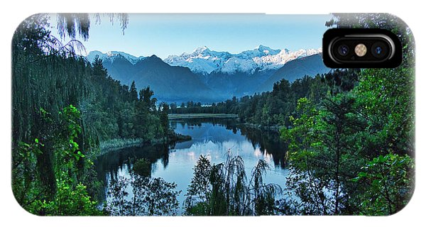 IPhone Case featuring the photograph New Zealand Alps 3 by Steven Ralser