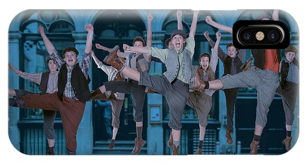 Newsies At The Artisan Center Theater IPhone Case