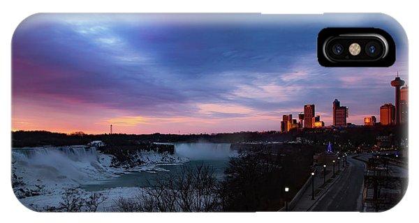 Niagara Falls At Sunrise IPhone Case