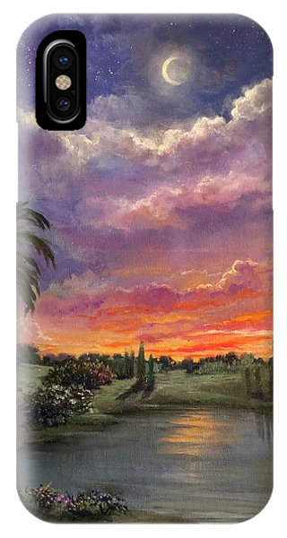 Night By Light Of Day IPhone Case