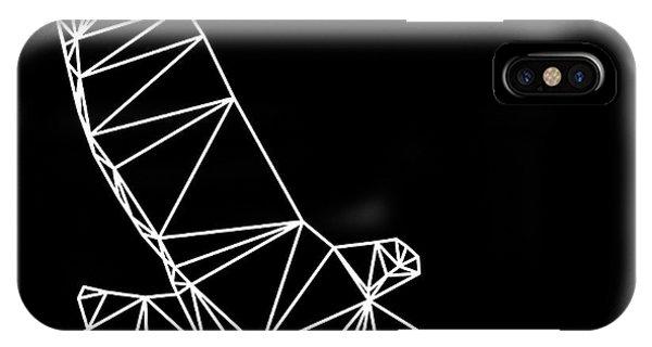 Lynx iPhone Case - Night Eagle by Naxart Studio