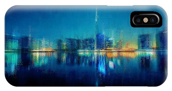 Night Of The City IPhone Case