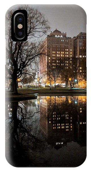 Night Reflection IPhone Case