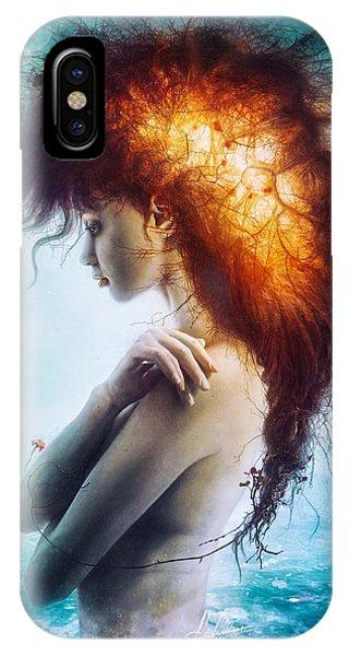 Hug iPhone Case - Nirvana by Mario Sanchez Nevado
