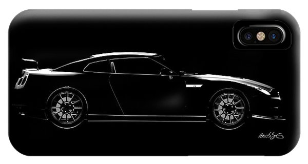 Nissan iPhone Case - Nissan Gtr by Peter J Sucy
