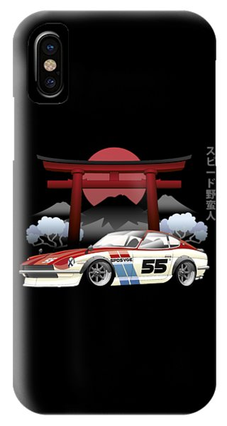 Nissan iPhone Case - Nissan by Mario A Asher
