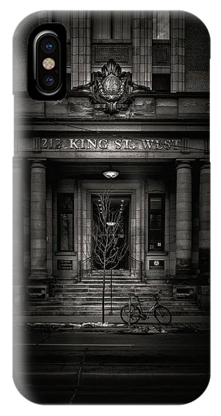 No 212 King Street West Toronto Canada IPhone Case