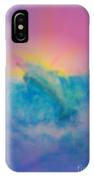 IPhone Case featuring the mixed media No Limits by Sabine ShintaraRose