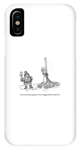 No One Is A Bigger Feminist IPhone Case