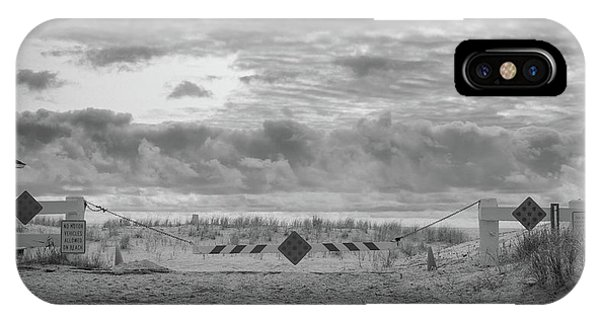 IPhone Case featuring the photograph No Vehicles by Steve Stanger