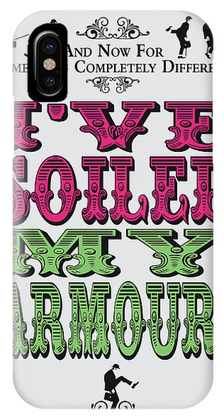 Ok iPhone Case - No03 My Silly Quote Poster by Chungkong Art