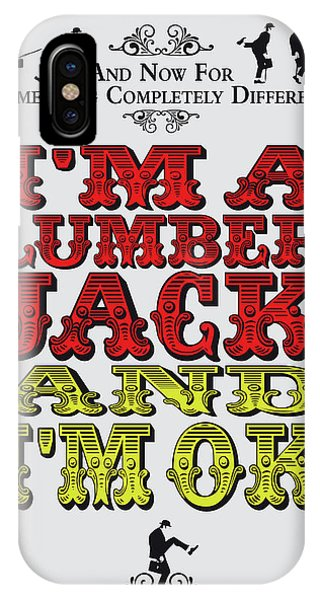 Ok iPhone Case - No10 My Silly Quote Poster by Chungkong Art
