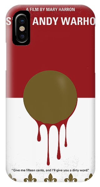Factory iPhone Case - No1000 My I Shot Andy Warhol Minimal Movie Poster by Chungkong Art