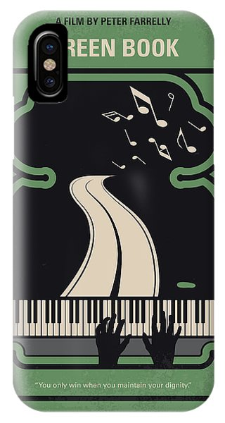 African American iPhone Case - No1039 My Green Book Minimal Movie Poster by Chungkong Art