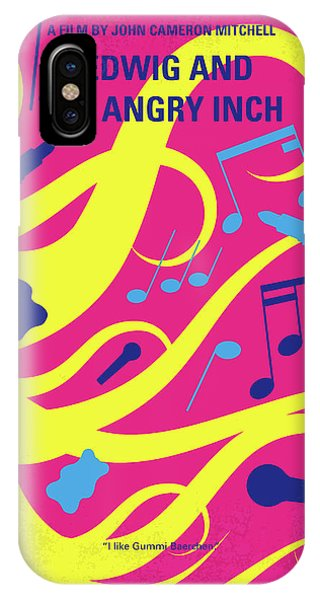 Punk Rock iPhone Case - No1046 My Hedwig And The Angry Inch Minimal Movie Poster by Chungkong Art