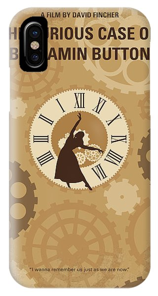 Katrina iPhone Case - No1068 My Curious Case Of Benjamin Button Minimal Movie Poster by Chungkong Art