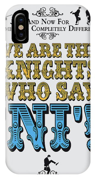 Ok iPhone Case - No11 My Silly Quote Poster by Chungkong Art