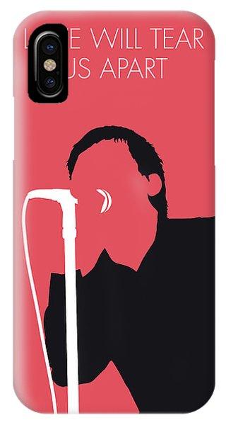 Punk Rock iPhone Case - No212 My Joy Division Minimal Music Poster by Chungkong Art
