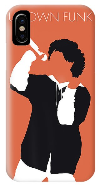 Planet iPhone Case - No223 My Bruno Mars Minimal Music Poster by Chungkong Art