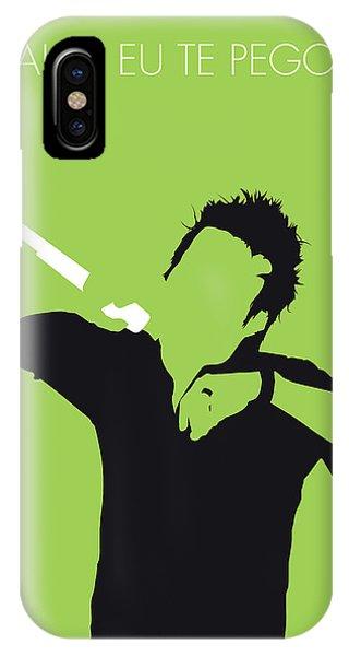 Brazil iPhone X Case - No246 My Michel Telo Minimal Music Poster by Chungkong Art