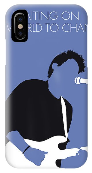 Change iPhone Case - No251 My John Mayer Minimal Music Poster by Chungkong Art