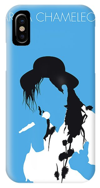 Culture Club iPhone Case - No269 My Culture Club Minimal Music Poster by Chungkong Art