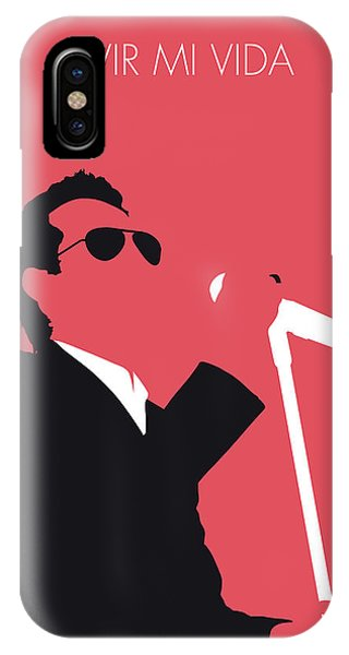 0 iPhone Case - No292 My Marc Anthony Minimal Music Poster by Chungkong Art