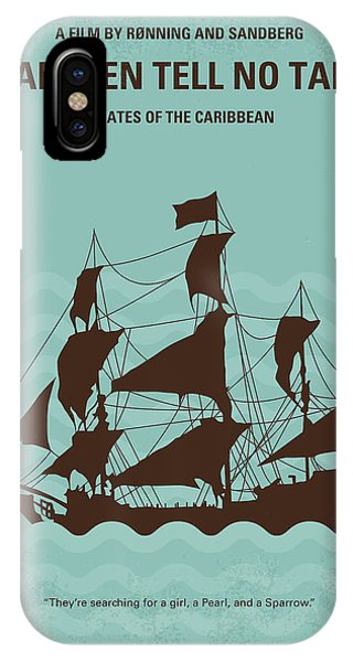 Jack iPhone Case - No494-5 My Pirates Of The Caribbean V Minimal Movie Poster by Chungkong Art
