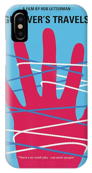 Jack iPhone Case - No967 My Gullivers Travels Minimal Movie Poster by Chungkong Art