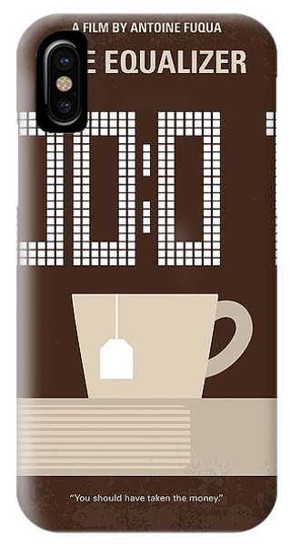 100 iPhone Case - No973 My The Equalizer Minimal Movie Poster by Chungkong Art